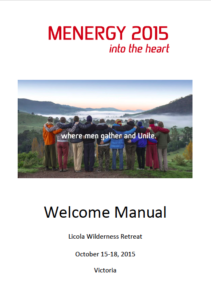 Menergy 2015 'Into The Heart' - Welcome Manual