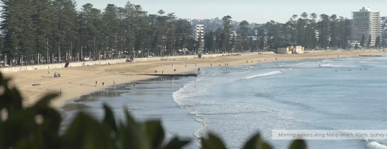 Manly Beach, Sydney, NSW